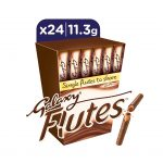 Galaxy Flutes Chocolate Fingers 45g X12 Snack Circus Inc